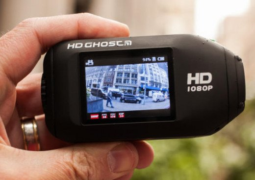 Drift Innovation HD Ghost Wi-Fi Waterproof Digital Video Action Camera Camcorder