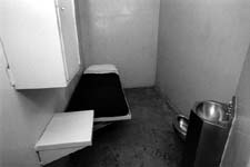 CELL WHERE PRISONER AWAITS EXECUTION