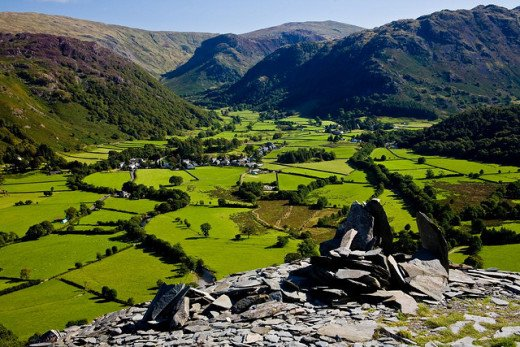 Rosthwaite surroundings provides strenuous exercise for the adventurous, with the reward of fine Lakeland scenery at your destination