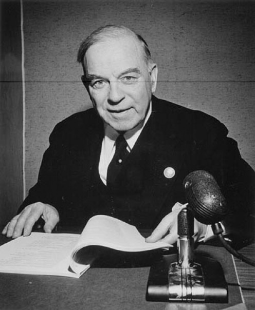 Right Honourable W. L Mackenzie King, Prime Minister of Canada, 1945