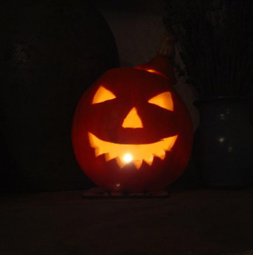 A simple but effective Halloween Jack O'Lantern