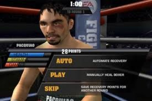 The in between rounds realism has vastly improved in Fight Night Champion. The 60 second break is your recovery period.