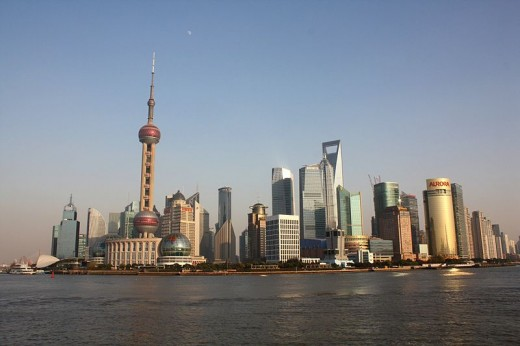 Shanghai is the ninth largest city in the world. The city's futuristic novelties include what will be the world's tallest building, the 101-storey Shanghai World Financial Centre.