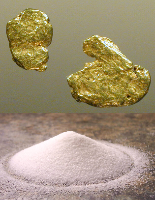 The Gold-salt trade contributed to the empire's health and stability.