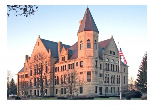 The present day courthouse in Richmond