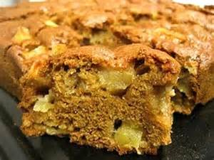 Slice of Apple Cake without drizzle