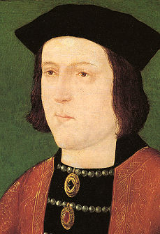 Edward IV decided to make his step-son Edward of Warwick's guardian