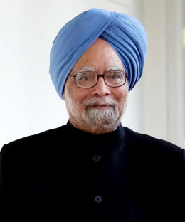 Manmohan Singh, present Prime Minister of India