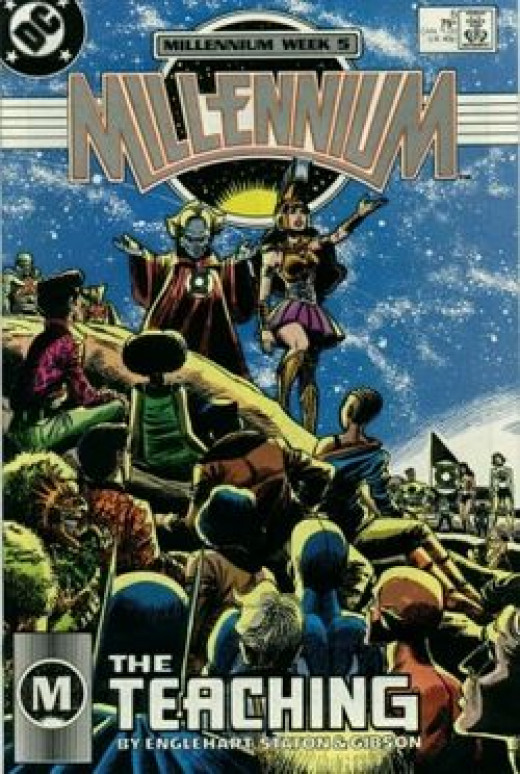 The cover for Millennium #5.
