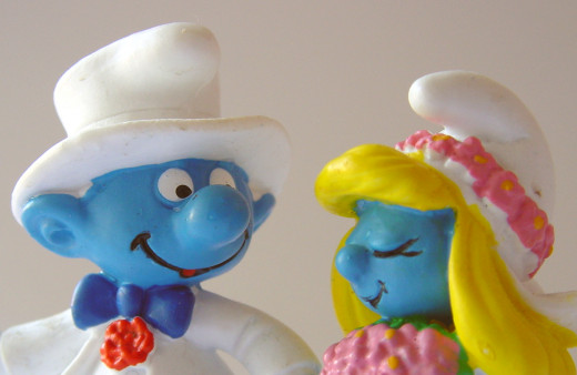 Smurfs...be afraid, be very afraid