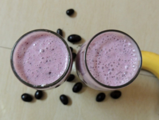 Bluberry Banana Smoothie