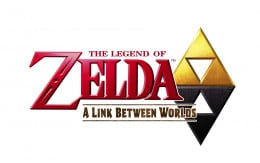 The official logo of The Legend of Zelda: A Link Between Worlds.