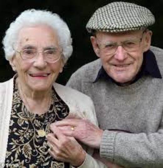 For many people, being old means the end of romance & intimacy. They feel that these two components are the purview of young people. After all, they contend old people's romantic lives are BEHIND them.