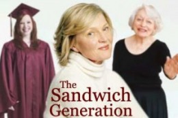 If you are putting children through college and taking care of your parents you are part of the Sandwich generation.