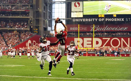 Arizona's Larry Fitzgerald