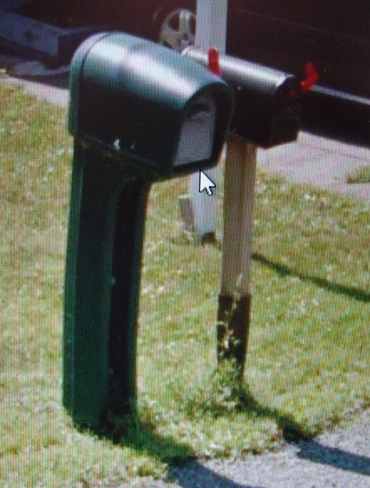 A typical Canadian rural mail box