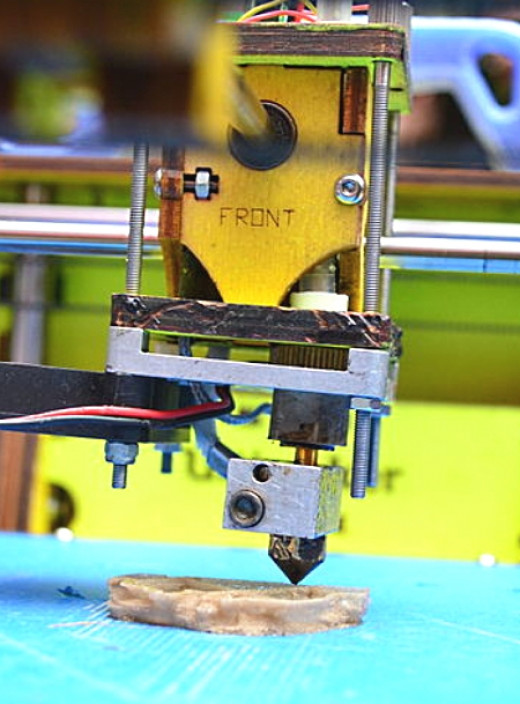 3D printing from a software template is becoming more sophisticated using multiple materials, including metals. It is also getting faster and may be suitable for mass production in the near future