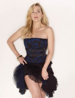 Kate Winslet Stunning Beauty With Great Curves and Fabulous Legs