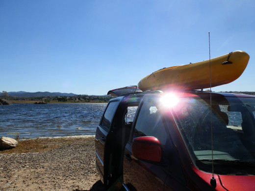 Traveling with a kayak