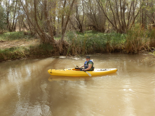 Kakaying the Verde River