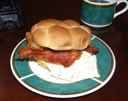 The Ultimate Egg Sandwich.