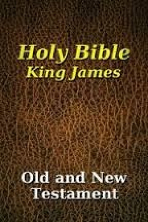 The Holy Bible has many versions including the King James Version and the New King James Version.