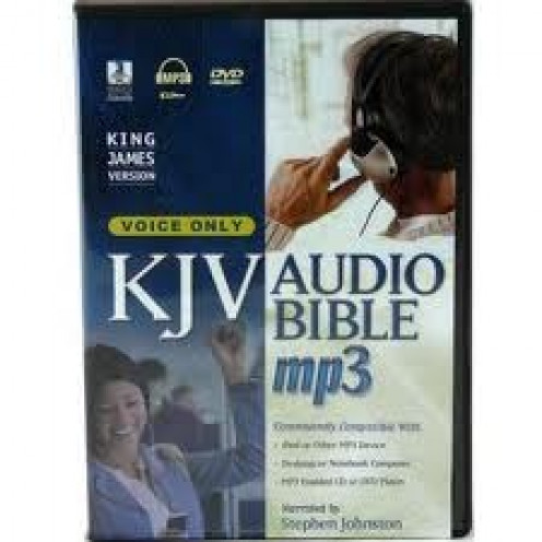 KJV of the Holy Bible is also available on DVD, CD and MP3. It's the most widely read book in the entire world.