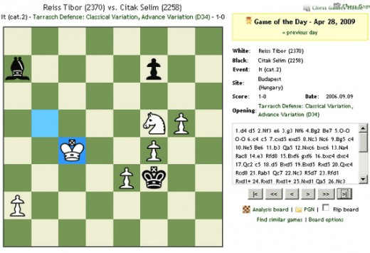 Chess.com interface