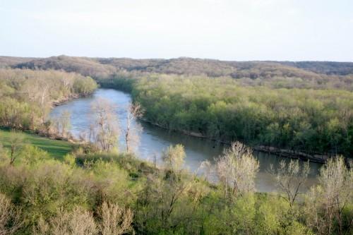 Meramec River at Castlewood