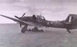 Captured J-87 Stuka in British markings