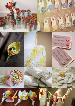 Great resource for wedding reception button usages.