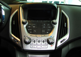 Terrain's 7 inch color touch screen allows a very user-friendly control of the audio system's Sirius/XM satellite radio functions