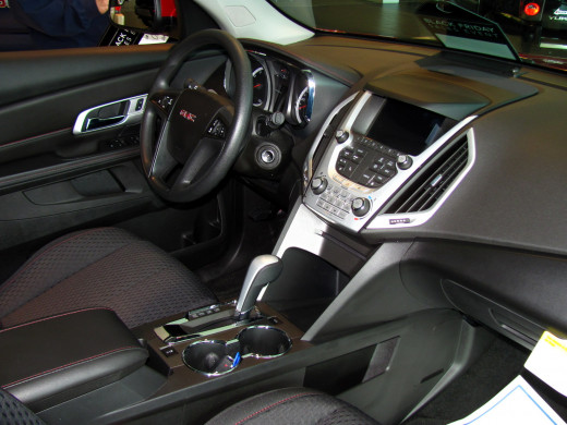 GMC Terrain provides a comfortable, safe environment for driver and passenger alike