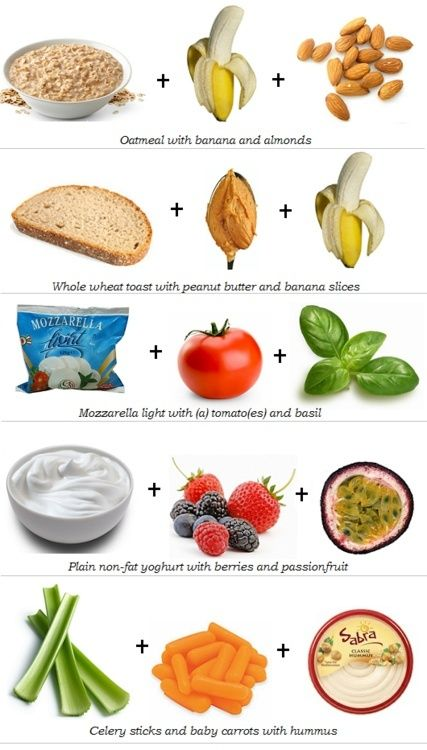 Spend some time researching healthy snacks that you'll want to eat!