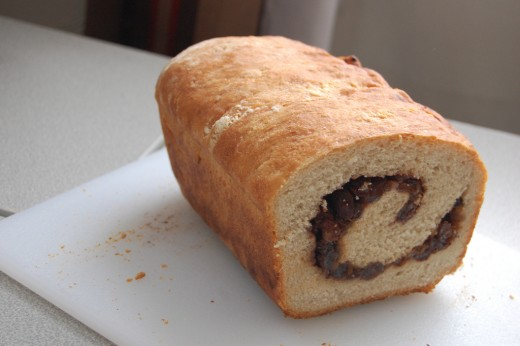 Cinnamon bread is another yummy choice.