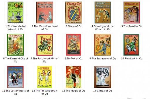 All original books