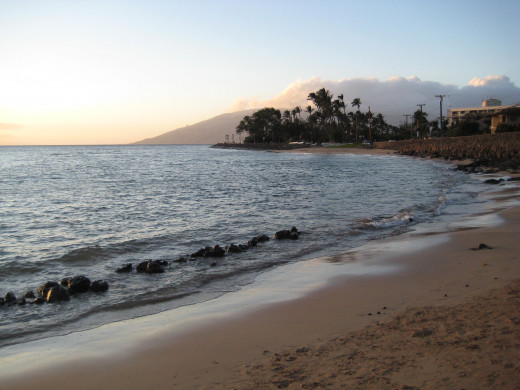 Cove Beach, Kihei, Maui HI