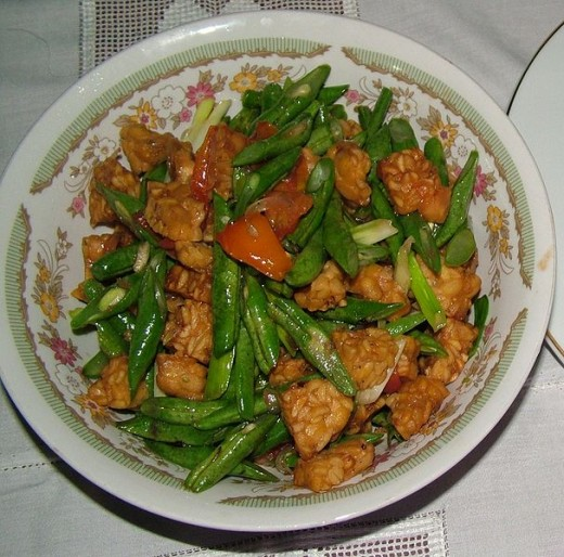 Tempeh is delicious in stir fries and soups
