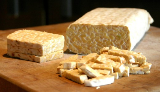 Tempeh is firmer than tofu. It is not as versatile, but is probably healthier as it is a fermemated product