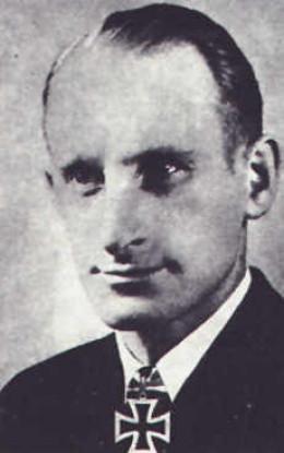 Captain Heidtmann - swam back toward stricken U-559 when he realised he hadn't destroyed the code books