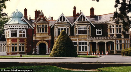 Bletchley Park House in Buckinghamshire was until fairly recently still shrouded in secrecy. This was the decoding centre for GCHQ, with American and British cryptology experts combining their efforts from 1942