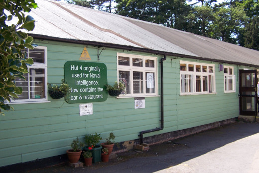 Hut 4 Bletchley Park - now a museum restaurant