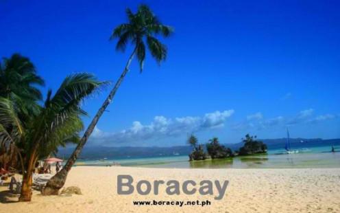 The Island of Boracay boasts of sugary white sand beach and azure blue waters.