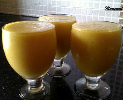 Mango Coconut Smoothie Recipe | Mango Coconut Pulp Smoothie Recipe