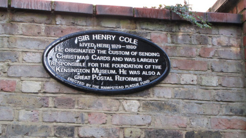 Sir Henry Cole Plaque