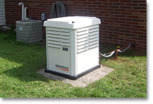 The Generac 5837 is a good overall value and provides you with enough energy to run your major appliances and Heating or AC.
