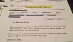 Social Security Disability: Step 3 – The Adult Disability Report