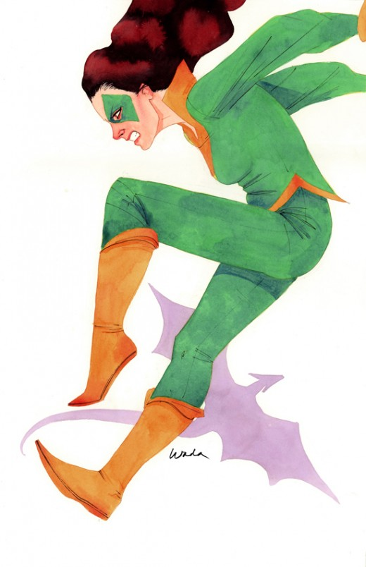 Kitty Pryde / Shadowcat Green and Yellow Costume
