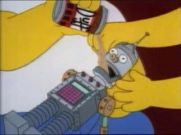 Shown: Linguo the Party Robot