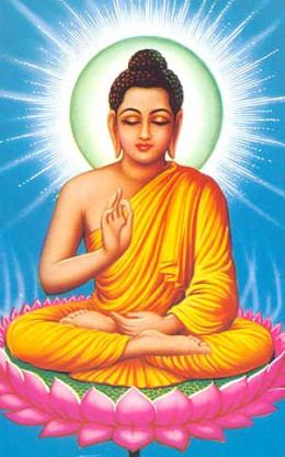 Buddha from article about misunderstanding Buddhism.